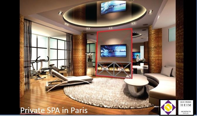 Private SPA in Paris (With JP HEIM Architect